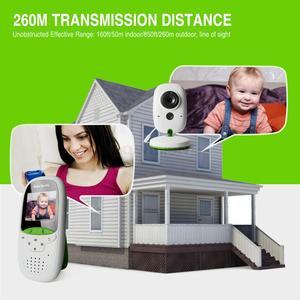 Image 5 - Bezprzewodowa elektroniczna niania 2.0 Cal niania kamera 2 Way Talk Night Vision IR LED monitor temperatury niemowlę dziecko Sleep Cam VB602