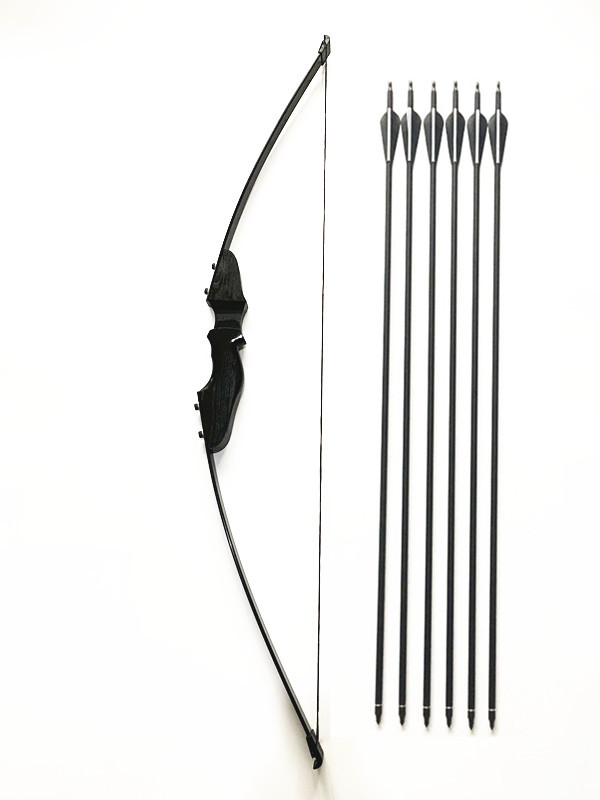 30/40LBS Takedown Bow And Carbon Arrow Set Archery Game Practice Target Hunting Bow Kit For Archery  Shooting