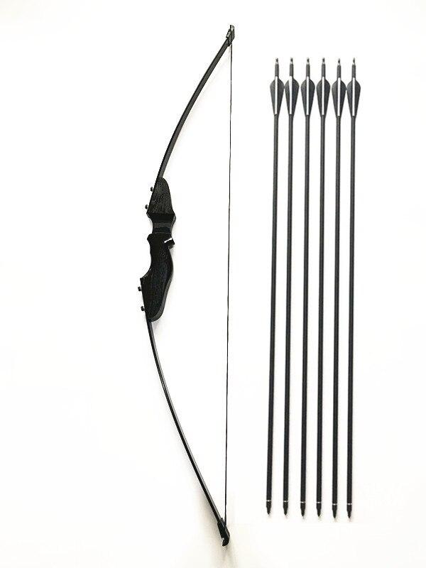30 40lbs takedown arco e conjunto de seta de carbono tiro com arco jogo pratica caca