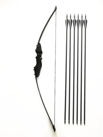 30 40lbs takedown arco e conjunto de seta de carbono tiro com arco jogo pratica