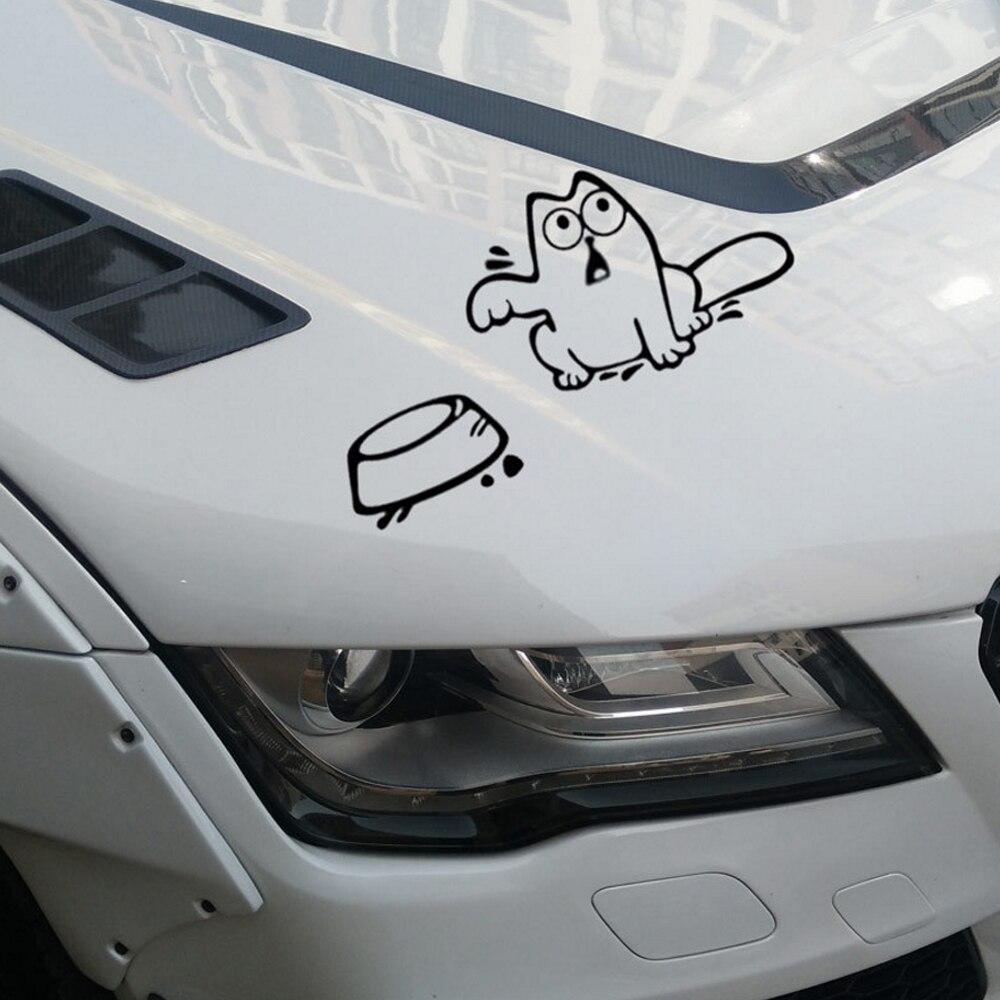 Kitty Cat Love Heart Feline Decal Window Bumper Sticker Car Decor Free US Ship