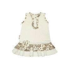 Платье летнее Lucky Child, арт. 11-61 (Цветочки) [сделано в России, доставка от 2-х дней]