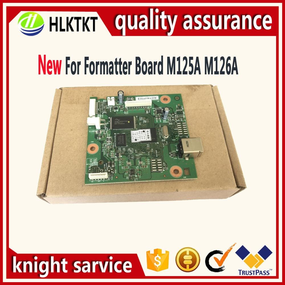 CZ172-60001 CZ181-60001 CZ183-60001 Formatter Board For HP M126A M126 M125A M125 125A M127FW M127FN 127FN 127FW 128FN 128FW 1020 free shipping formatter board for hp laserjet pro mfp m127fn m128fn m127fw m128fw cz181 60001 cz183 60001 print part on sale