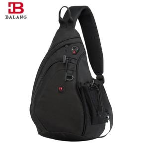 Image 1 - BALANG Messenger Bag Men Nylon Multipurpose Chest Pack Sling Shoulder Bags for Men Casual Crossbody Bolsas 2020 New Fashion