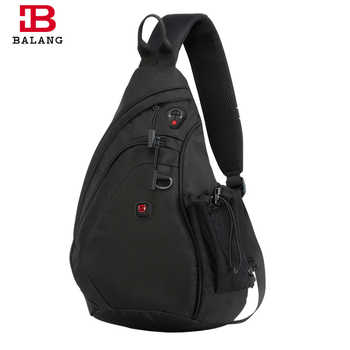 BALANG Messenger Bag Men Nylon Multipurpose Chest Pack Sling Shoulder Bags for Men Casual Crossbody Bolsas 2019 New Fashion - DISCOUNT ITEM  50% OFF All Category