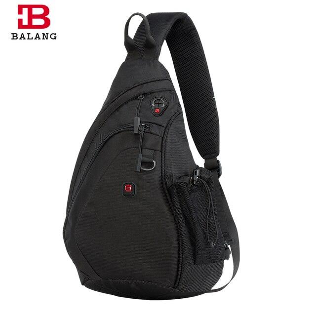 BALANG Messenger Bag Men Nylon Multipurpose Chest Pack Sling Shoulder Bags for Men Casual Crossbody Bolsas 2020 New Fashion