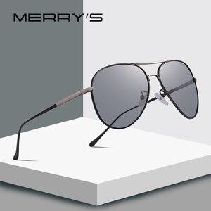 Image 1 - MERRYS, gafas de sol clásicas polarizadas fotocromáticas para hombre, gafas de sol para conducir con camaleón, 100% protección UV S8177