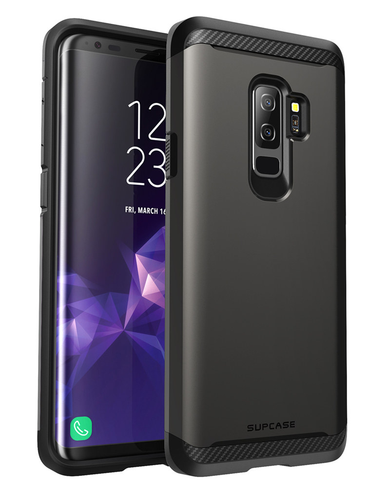 For Samsung Galaxy S9 Plus UB Neo Series TPU Bumper + Hard Polycarbonate Back Cover Protective Dual Layer Armor Case