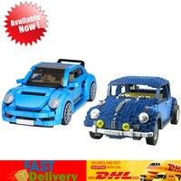 Lepin 21014 The Ultimate Beetle +Xingbao 03015 944Pcs Genuine MOC Technic The Beetle Car Model Set Blocks Bricks Toys Gifts