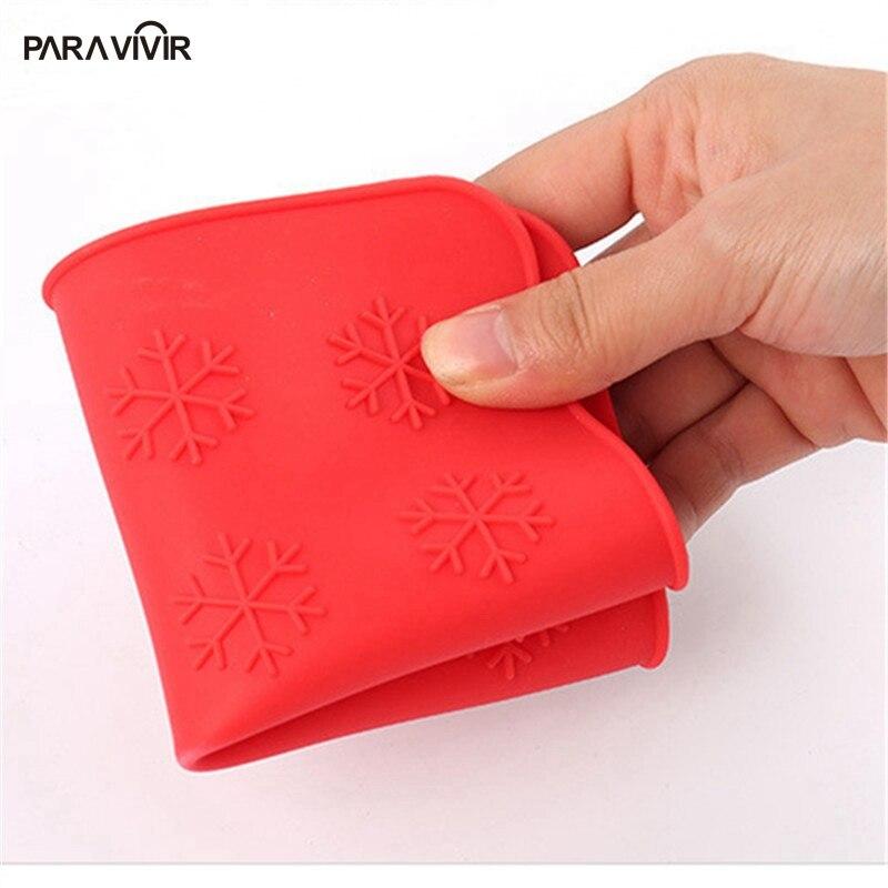 Flexibele Silicon Eettafel Placemats Vierkante Antislip