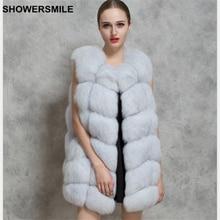 Faux Fur Vest Women Sleeveless Jacket White Black Thick Warm Waistcoat Winter Spring Female Outerwear Fashion Ladies Clothing