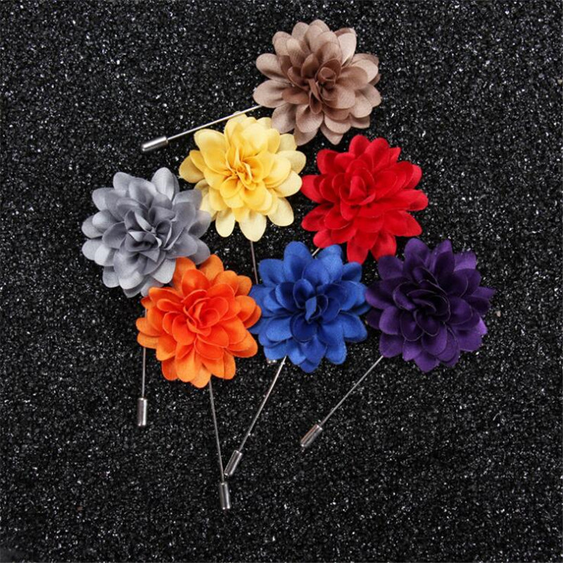 Jinse 10pcs men jewelry of silk flower brooches rose cluster floral jinse 10pcs men jewelry of silk flower brooches rose cluster floral men lapel pins for suits mightylinksfo