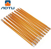 AOTU Outdoor Camping Tent Pole Lightweight Aluminum Alloy Rod 8 5mm Spare Replacement Tent Supporting Pole