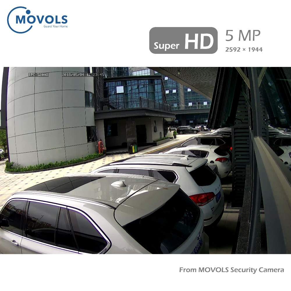 Image 5 - Movols 5MP 8CH H.264+ HD Security Camera System with 4 x 5MP HD Outdoor/ Indoor CCTV Camera Surveillance Kit-in Surveillance System from Security & Protection