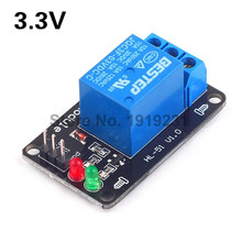 3.3V Low Level Trigger One 1 Channel Relay Module Interface