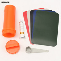 New Inflatable Plastic Kayak Boat Dinghy Rib Canoe Waterproof PVC Special Repair Patch Kit Container Bucket