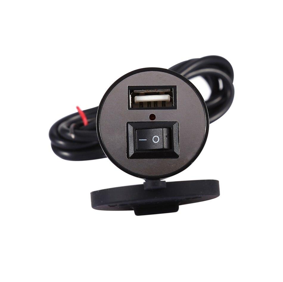 12-24 В Универсальный USB Зарядное устройство мотоциклетные Мощность адаптер разъем Usb Зарядное устройство Водонепроницаемый Авто Зарядное ус...