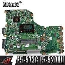 E5-573G mainboard For Acer Aspire E5-573G E5-573 Motherboard I5-5200U GT940M -2GB DA0ZRTMB6D0 Test work 100% original