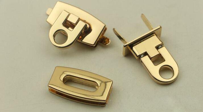 50 Pcs Pâle Matériel lot Verrouiller Décoratifs Mortaise Accessoires Diy Bagages Verrouillez Or 4B4rFnqw