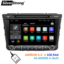 SilverStrong Quad 4Core Android 4G SIM Car DVD For Hyundai Creta IX25 2014-18 with 2GB RAM 4G MODEM GPS Radio Navigation