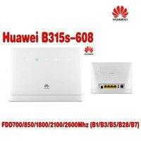 Huawei נתב אלחוטי cpe נתב-B315s-608 4 גרם + 2 יחידות אנטנה