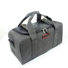 New Multifunctional Men's Handbag Casual Canvas Shoulder Bag Large Capacity Thickening Women's Travel Bags