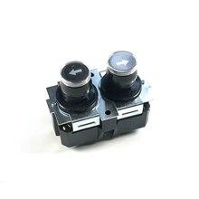110 220 v 16a duplo tipo momentâneo botão do conector do parafuso da maneira para a grua impermeável