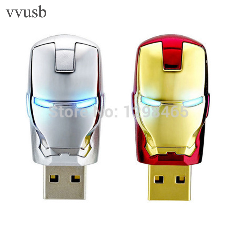 Cerulean OCEAN vvusb Newest Justice League Heroes/ Iron man USB 2.0 Flash Drive/U Disk/Creativo Pendrive/Memory Stick/Disk