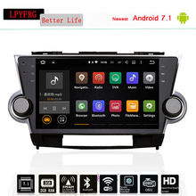 Car Styling 10 1 Octa Core Android 8 0 Gps Navigation For Toyota Highlander 2008 2017