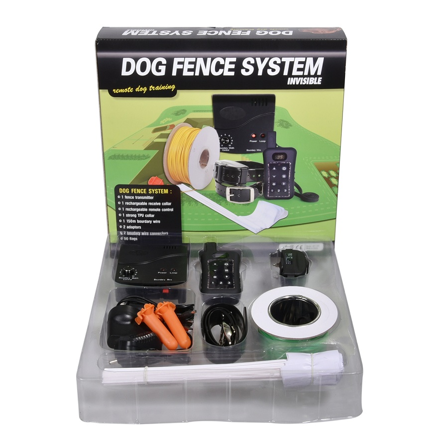 2018 новые продукты Удаленный Собачий Ошейник Беспроводной Водонепроницаемый подземных Электрический Собака Забор для собак Training