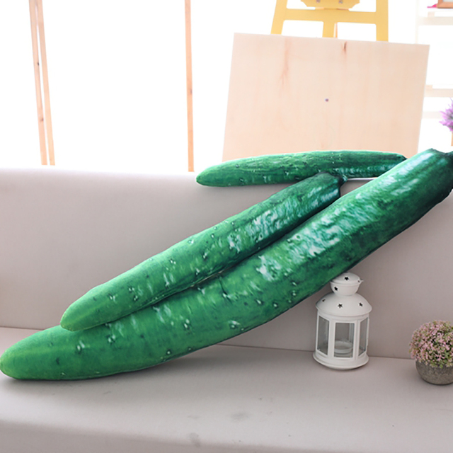 Cucumber Long Pillow 1