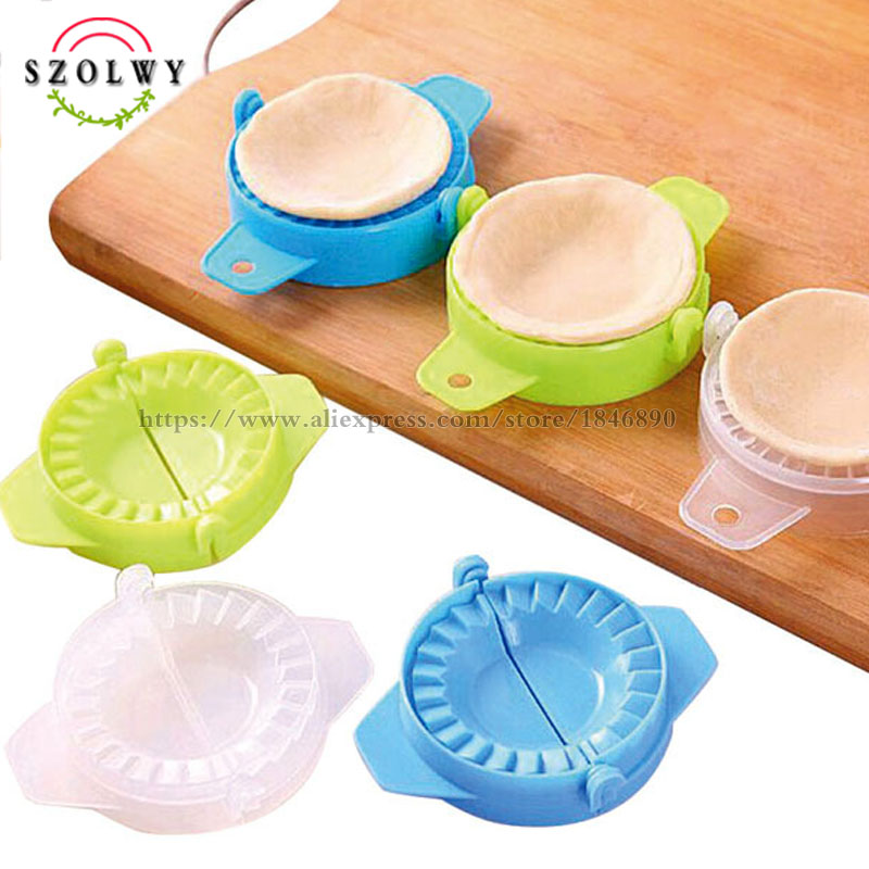 Baking & Pastry Tools Fine New Hotsale Best Price In Aliexpress Promotion 2 Pcs White Plastic Meat Pie Dumpling Mould Pastry Press Makers Home & Garden