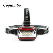 Mini COB Waterproof Plastic 600Lm LED Headlight outdoors Headlamp head light lamp Flashlight Torch Linternas For Hunting