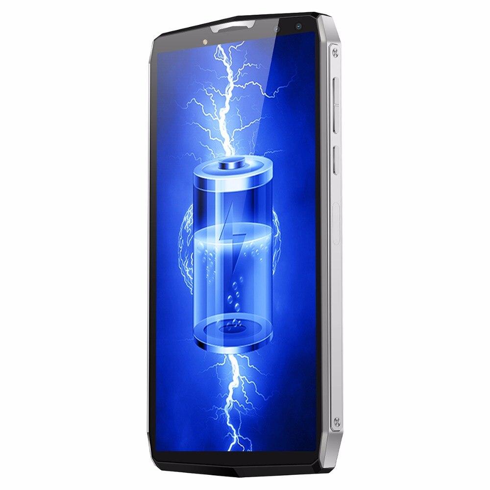 Blackview P10000 Pro Smartphone 11000 mAh grande batterie FHD Octa Core 4 GB RAM 64 GB ROM identification de visage 4G Android 7.1 5.99 pouces téléphone portable