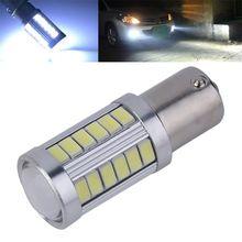 White 1156 BA15S 33-SMD 5630 LED Auto Car Vehicle Reverse Tail Light Bulb