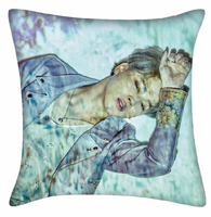 New Kpop BTS Bangtan Boys JIMIN The Same Sofa Soft Bolster Car Waist Pad Cushions Double