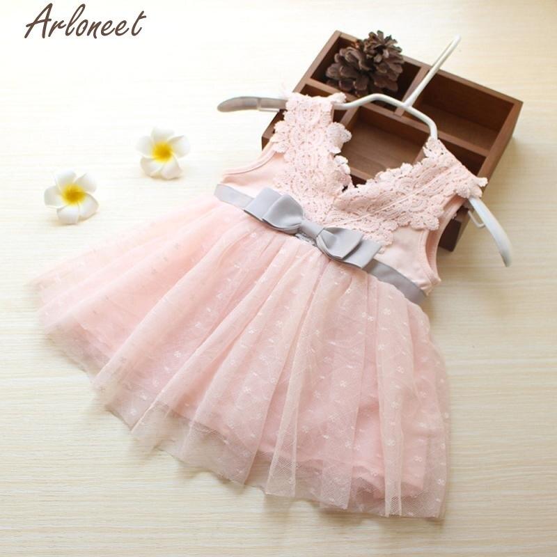 Baby Girl Newborn Toddler Big Bowknot Princess Dress Party Pageant Dance Skirt