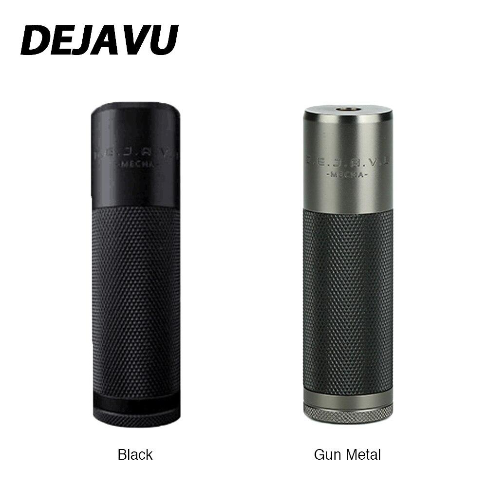 100% Original cadeaux lourds DEJAVU DJV Mech MOD avec système hybride Unique et interrupteur à ressort/aimant en option E-cigarette Vaping Mod