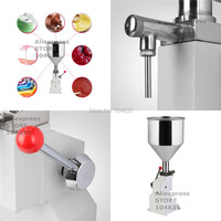 FREE SHIPPING Food filling machine Manual hand pressure stainless paste  liquid packaging equipment sold cream machine 5 50ML food machine machine manualmachine machine -