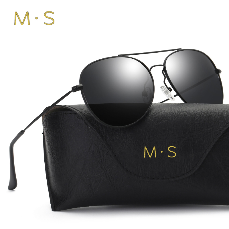 MS Polarized Sunglasses Male Fishing Female Outdoor Sports Eyewear For Men S Men Driver Mirror Pilot Alloy Sun glasses J34