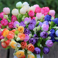bouquet small bud roses flower