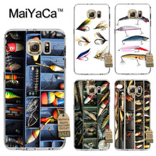 MaiYaCa  Fishing Tackle Box Fishing Soft Transparent TPU Phone Case Accessories Cover For Samsung galaxy s6 case