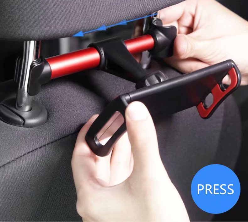 "Universal  4-11"" Phone Tablet Car Holder For iPad tablet Back Seat Holder Stand Tablet Accessories in Car for iphone x 8"