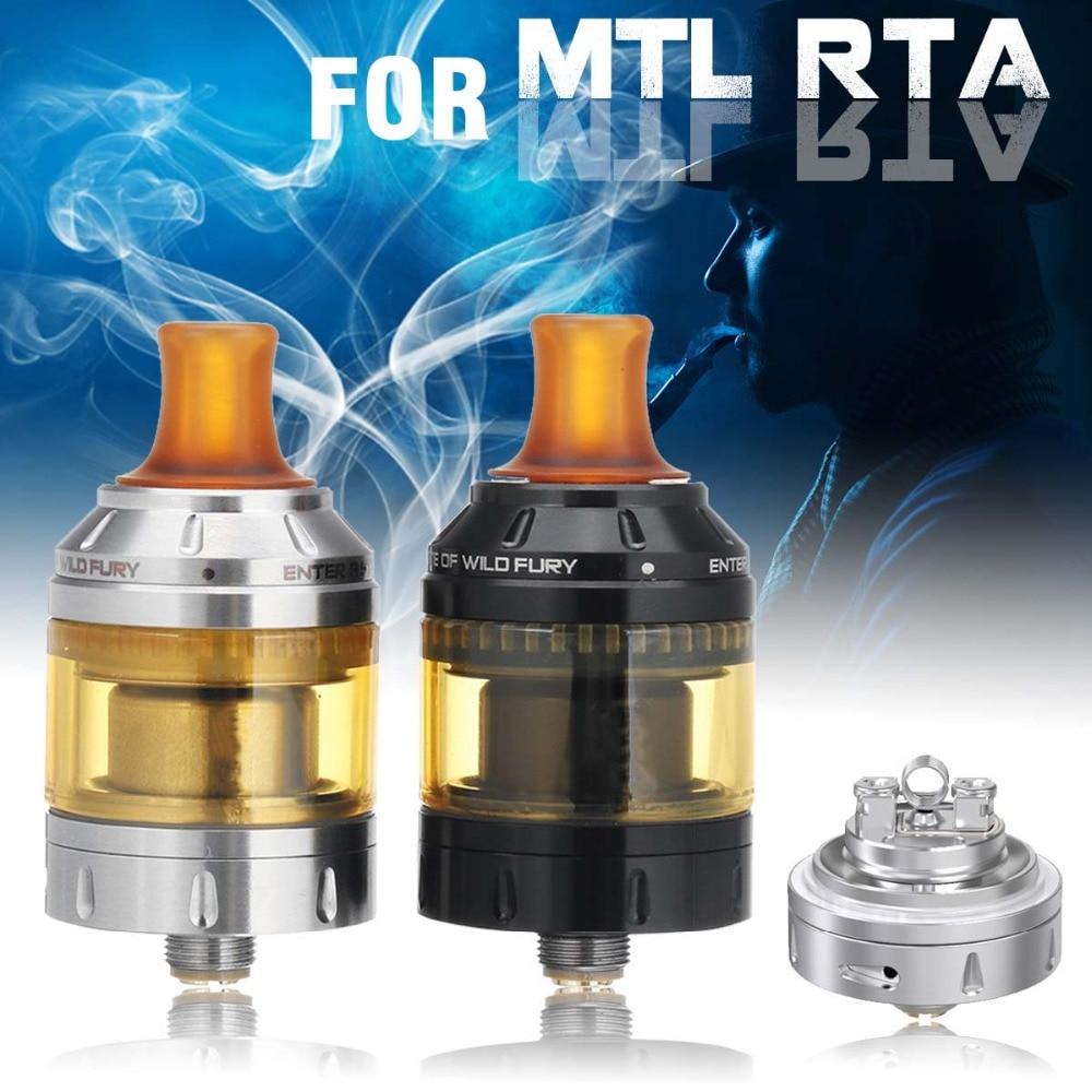2 ml/4.5 ml 24mm Cigarette Électronique Atomiseur Pour Berserker MTL RTA 510 Fil En Acier Inoxydable