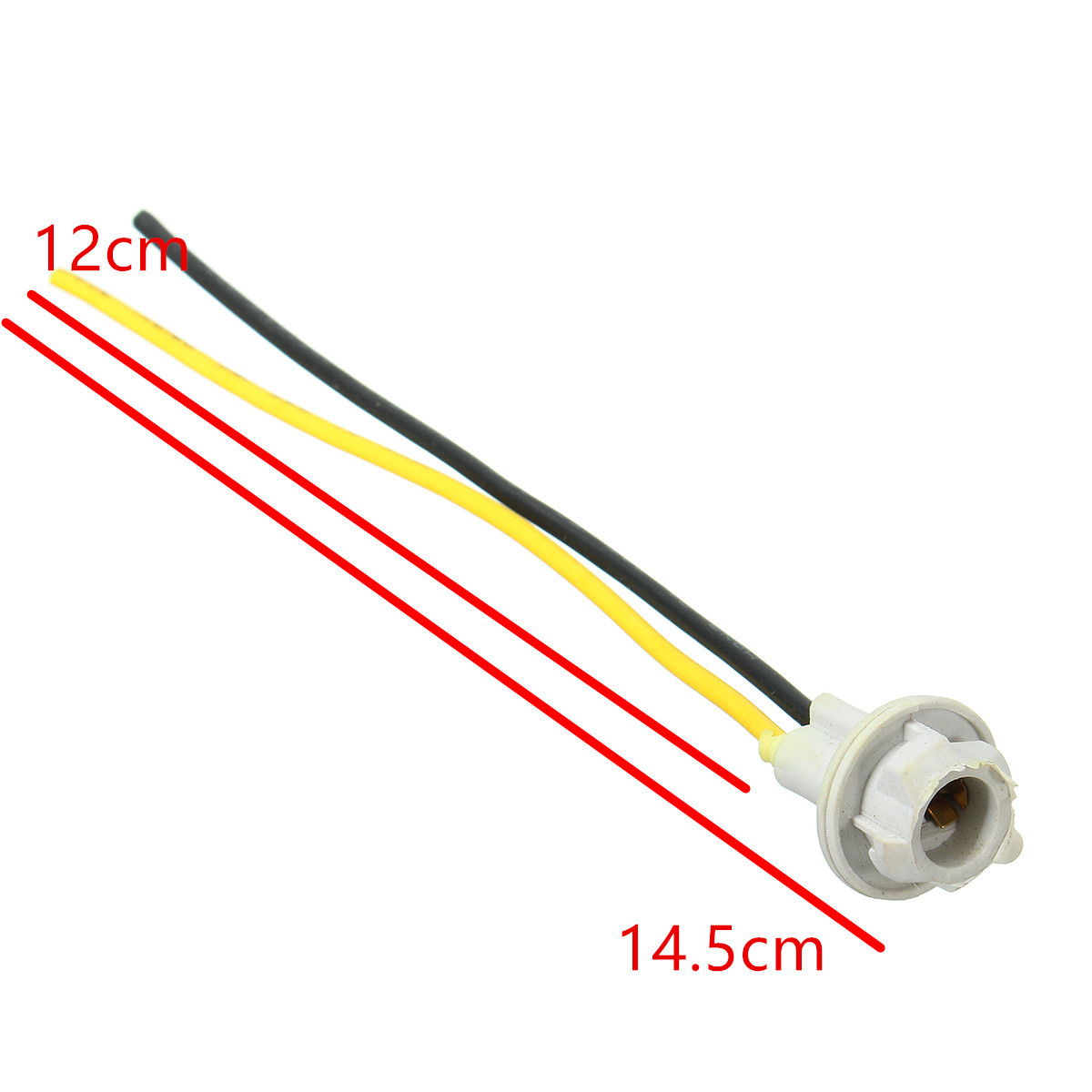 5 Stücke T10 Stecker 12 CM W5W 168 194 Auto Lampe Kabel Auto birne ...