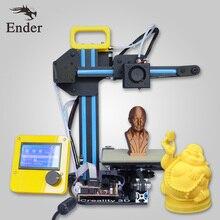 2017 Hot Sale 3D printer CR-7 Reprap prusa i3 printer Machine Mini 3D printer KIT DIY n filament+8G SD Card+HotBed (Creality 3D)