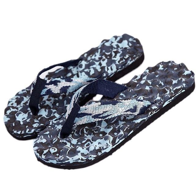 08c68169e0b0 Man Summer Camouflage Flip Flops Shoes Sandals Slipper Indoor   Outdoor Flip -flops Beach Shoes Casual Slippers