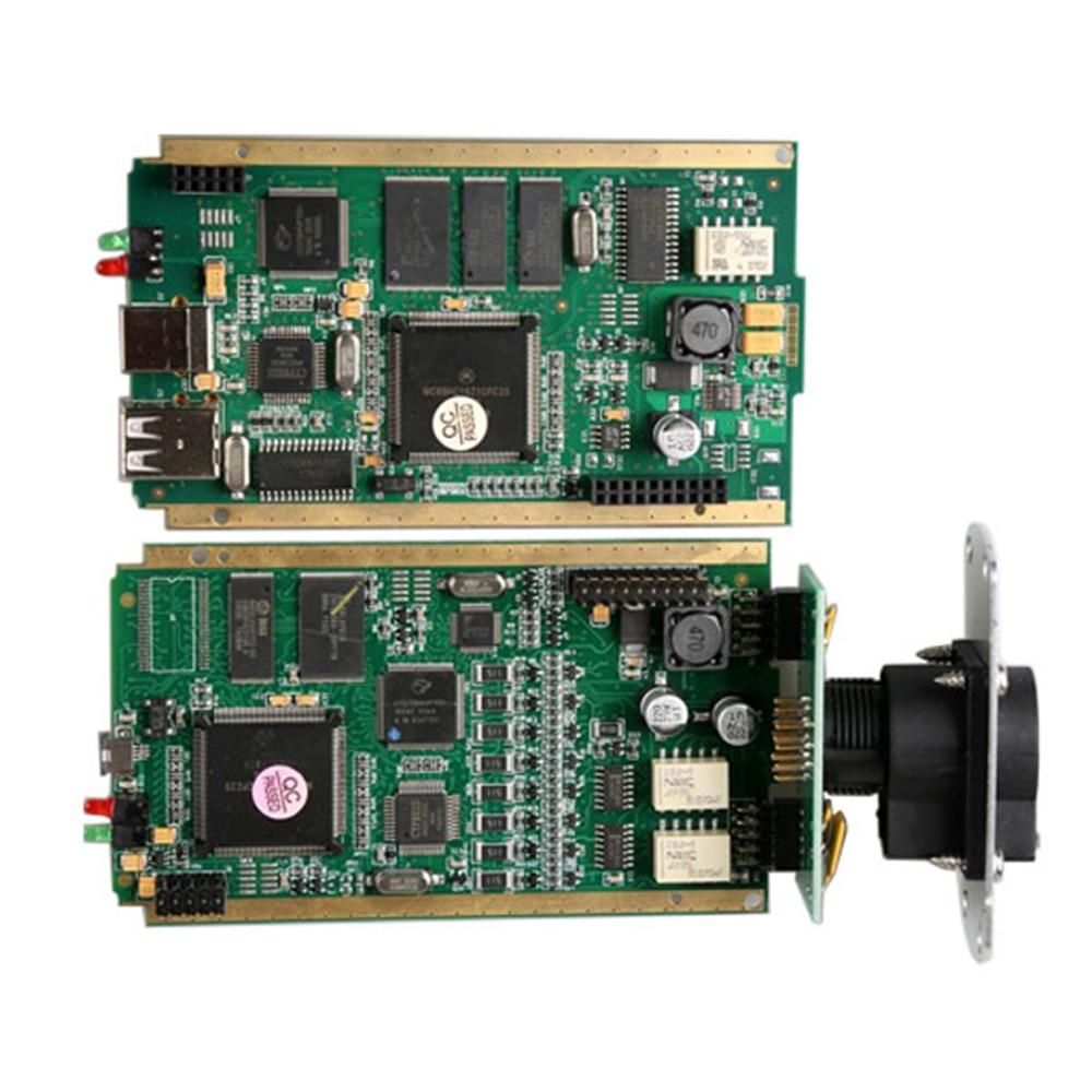 Image 5 - Автомобильный сканер с диагностическим интерфейсом инструмент золотые края может закрепить V178 для автоматического диагностического интерфейса с полным чипом AN2135/6SC