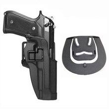 Tactical Belt Holster Beretta M9 92 96 Pistol Holster Militare Airsoft Tiro Pistola della Custodia Per Armi Per M9 Fondina Caccia Accessori