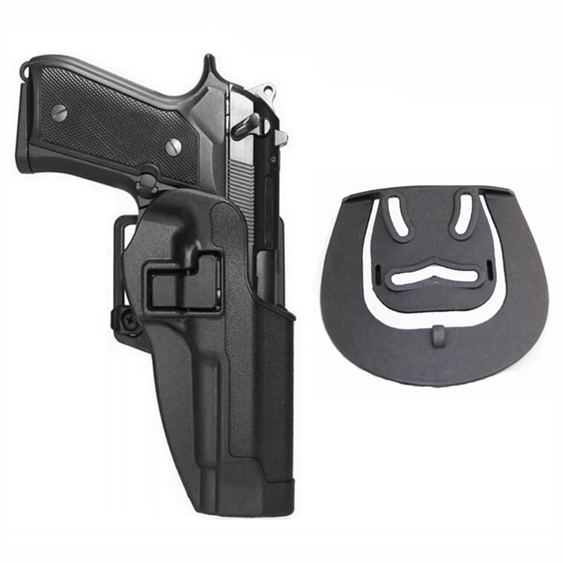 Tactical Belt Holster Beretta M9 92 96 Pistol Holster Military Airsoft Shooting Gun Holster For M9 Holster Hunting Accessories-in Holsters from Sports & Entertainment